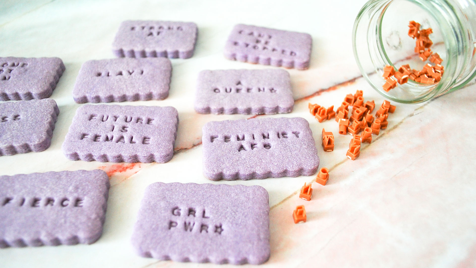kitchen-whiskers-international-womens-day-shortbread-cookies-purple